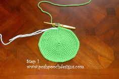 Posh Pooch Designs, free mystery Crochet a Long step 1