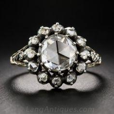 Dutch Rose-Cut Diamond Georgian Style Ring