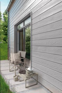 New Installation Of A Cedral Weatherboard In North