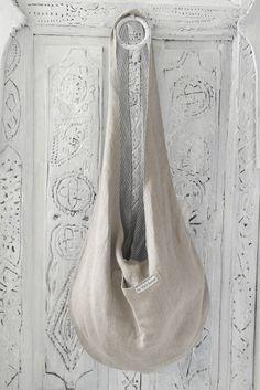 SAC Linen bag, NATURAL/STRIPES
