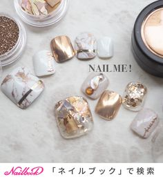 Toe nails are always fashionable. With all the new style of ombre toe nail designs, mable toe nail designs, shellac toe nail designs… Shellac Toes, Glitter Toe Nails, Feet Nails, My Nails, Feet Nail Design, Toe Nail Designs, Uñas Diy, Japan Nail, American Nails