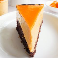 Eggless Mango Mousse Cake is layered with chocolate/vanilla cake, mango mousse and then glazed with Mango.