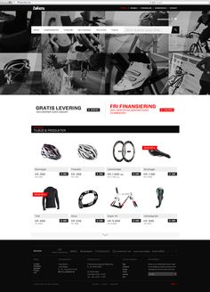Bikes, Identity + Web by Michael Luong, via Behance
