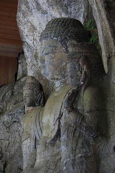 Usuki Stone Buddhas japan oita