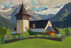 View Lauenen, Switzerland by Clarence Alphonse Gagnon on artnet. Browse upcoming and past auction lots by Clarence Alphonse Gagnon. Canadian Painters, Canadian Artists, Mountain Art, Mountain Landscape, Clarence Gagnon, Of Montreal, Australian Art, Chapelle, Van Gogh