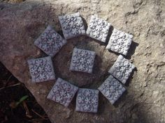 Stepping Stones for Miniature Fairy Gardens by DreamingofFaerie