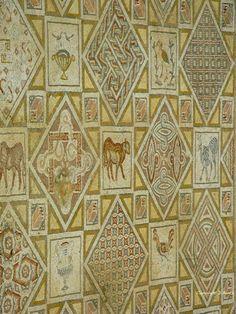 Les mosaïques byzantines parmi tant d'autres. Jerash, Jordanie