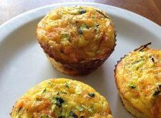 Muffins με κολοκυθάκι, καρότο και τυρί | InfoKids