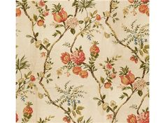 Kravet Couture FLORAL ICON BLANC 30190.730 - eDesigntrade - New York, NY, 30190.730,Kravet,Chenille,Green, Pink,S,Softened,Up The Bolt,Turkey,Floral Medium,Upholstery,Yes,Kravet Couture,Yes,FLORAL ICON BLANC