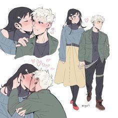 """Morgana and Oz on a date ❤️"" Fantasy Character Design, Character Design Inspiration, Character Art, Cute Couple Art, Cute Couples, Anime Couples, Pretty Art, Cute Art, Fandoms"