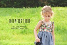 Little Girls Edelweiss Tunic Pattern ($10)