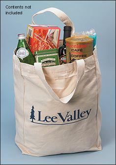 Lee Valley Tote - Gardening Plastic Shopping Bags, Paper Shopping Bag, Lee Valley, Cabinet Makers, Cotton Bag, Wood Turning, Woodworking, Gardening, Ideas