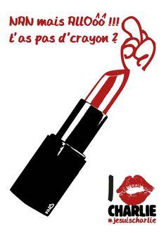Contribuez à la liberté d'expression ! Dessinez !!! @cliquetv #JeSuisCharlie