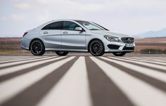 Mercedes-Benz CLA-Class Coupe Side View