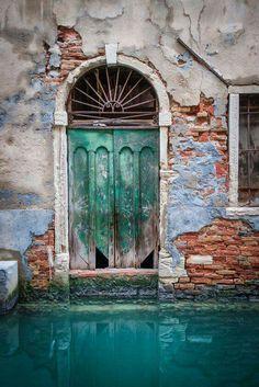 The Green Doors of Venice