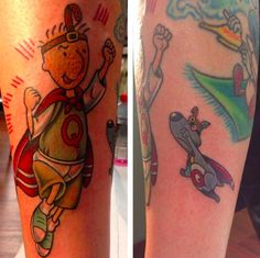 17 Insanely '90s TV Tattoos to Get Your Life Flipped-Turned Upside Down | moviepilot.com