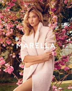 Karlie Kloss for Marella Fall Winter Campaign 2015 by Ryan McGinley