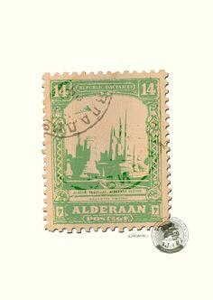 Star Wars Stamps (Alderaan)