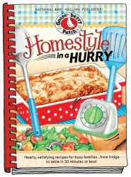 Homestyle in a Hurry Cookbook, now available as an eBook for your Kindle, Nook, Apple, Kobo & Sony devices.