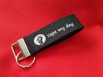 Schlüsselband Vape/Dampfen E-Zigarettenspruch