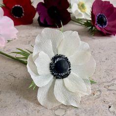 89 best nectar hollow images on pinterest crepe paper flowers crepe paper anemone single stem wedding flowers homeoffice decor florist supply paper flowers mightylinksfo