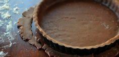 Čokoládové krehké cesto