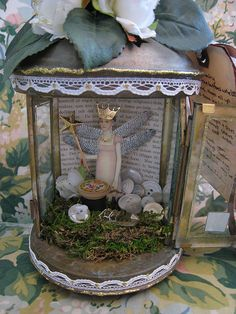 Inside fairy jar