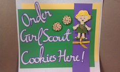 Melody Lane Designs: Girl Scout Cookie Sign