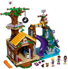 LEGO Friends 2016 | 41122 - Adventure Camp Tree House #lego #legofriends #legofriends2016