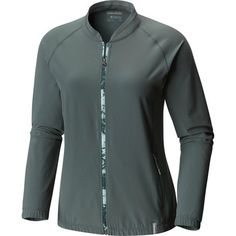 Light up soft spring trails near and far with the Columbia Emanating Light Jacket helping you ward off an early season chill. This versatile piece works as well on your walk to the coffee shop post-yoga as it does when you're starting a hike on a cool, foggy morning. Its blend of synthetic fibers work to keep moisture moving away from your skin as you work up a sweat in cool temps, while UPF 40 protection in the fabric shields your skin from strong spring sunlight.