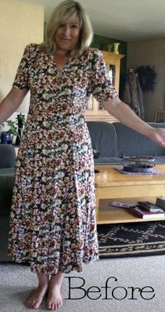 This lady is amazing! The before and after designs of the clothes is incredible! There are so many photos to get inspiration from. I need to refer back to this website later on! There are refashion tutorials for everything.