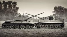 T34/85 vs Tiger tank