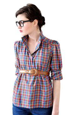 Shirt & glasses