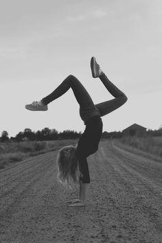 handstand.