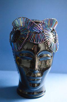 Art Deco inspired beaded fantasy Headpiece:  ready to ship one off piece by ImaginariumApparel on Etsy https://www.etsy.com/uk/listing/212883901/art-deco-inspired-beaded-fantasy