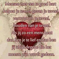 Mensen met een goed hart ...