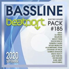 Beatport Bassline: Sound Pack #185 (2020) Dj Fresh, Electro Music, Album, Card Book