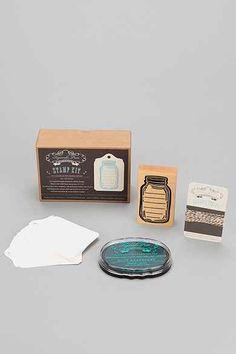 Mason Jar Stamp Kit