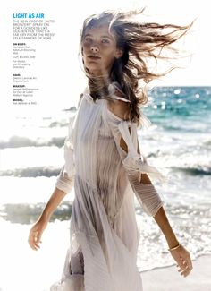 Make Waves: #IlseDeBoer by #EnriqueBadulescu for #MarieClaireUS May 2014
