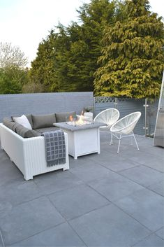 Surface Outdoor Mid Grey Porcelain Slab - Tiles from Tile Mountain