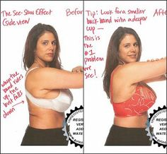 How to actually get a good fit on your bra!  So many women need to read this!