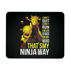 Naruto Uzumaki Ninjaway Mouse Pad - TL00266MP
