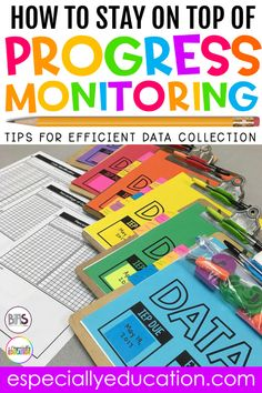 Data collection in a special education classroom is made easier through effective data collection strategies. Special education teachers and inclusion teachers can help students keep track of their process and reflect on their next steps. Special Education Organization, Preschool Special Education, Kids Education, Education Galaxy, Education System, Special Education Progress Monitoring, Education Quotes, Physical Education, Finland Education