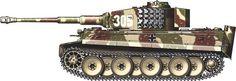 Tiger I Belgique, March 1944.