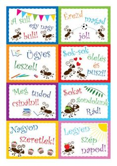 motivacios_papirmuhely Classroom Rules, Classroom Decor, Parenting Advice, Kids And Parenting, Teaching Displays, 4 Kids, Children, Lunch Box Notes, Advent Calenders