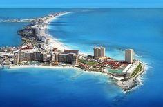 As famosas playas de Cancún son sen dúbida un icono de turismo do país do…