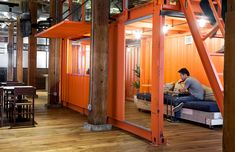 Shipping container workspace
