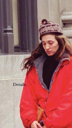 Carolyn Bessette Kennedy, Rain Jacket, Windbreaker, Winter Hats, Cap, Jackets, Fashion, Baseball Hat, Down Jackets