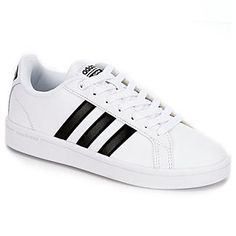 adidas Neo Cloudfoam Advantage Women\u0027s Sneaker (WHITE) | Rack Room Shoes