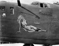 http://PhantomRPV.com B-24  Vintage Nose Art